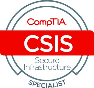 Cybersecurity CompTIA Secure Infrastructure Specialist - CSIS logo