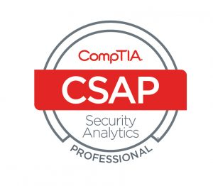 Cybersecurity CompTIA Security Analytics Professional - CSAP logo